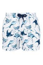 Manta Ray Print Swim Shorts