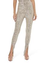 Alicia Sequin Embellished Pants