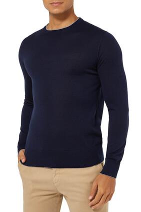 Classic Crewneck Knit Sweater