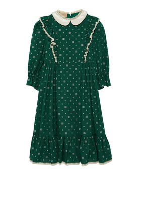 GG Dot Cotton Dress
