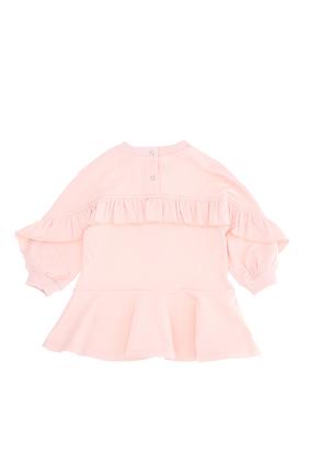 Graphic Cotton Dress