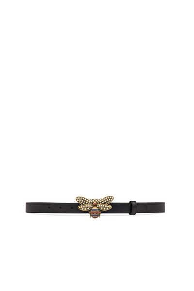 Queen Margaret Leather Belt With Bee