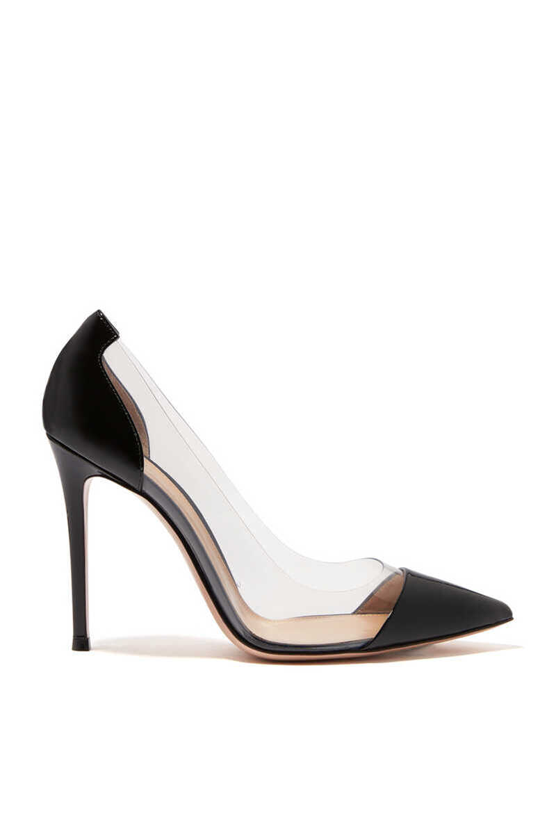 Plexy And Patent Leather Pumps image number 1