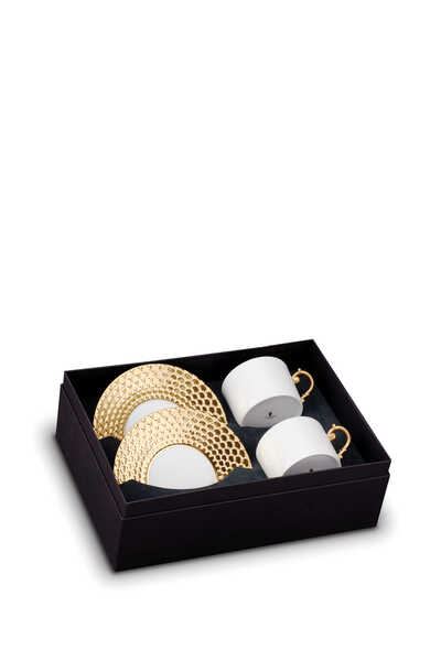 Aegean Tea Cup And Saucer (Set Of Two)