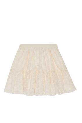 GG Garland Cotton Skirt