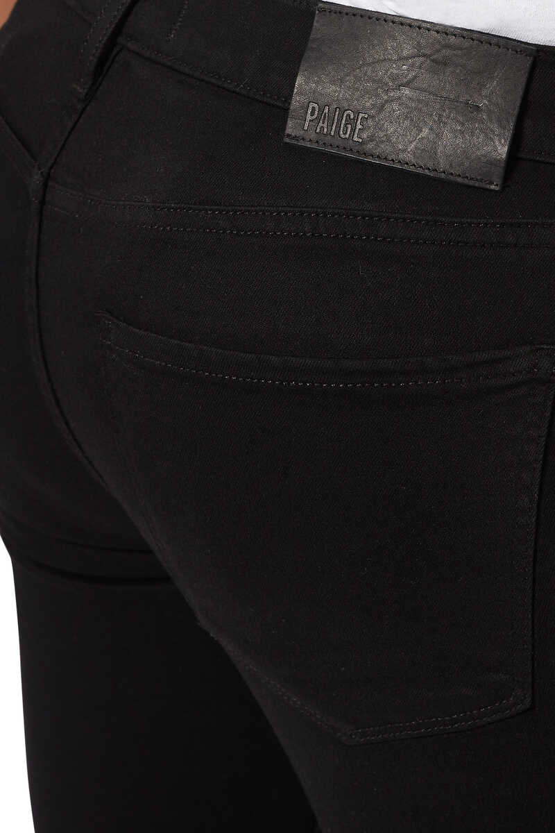 Croft Black Shadow Denim Jeans image number 4