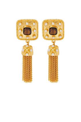 Winona Smokey Quartz Earrings