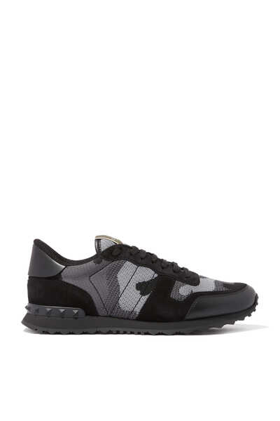 Camouflage Knit Rockrunner Sneakers