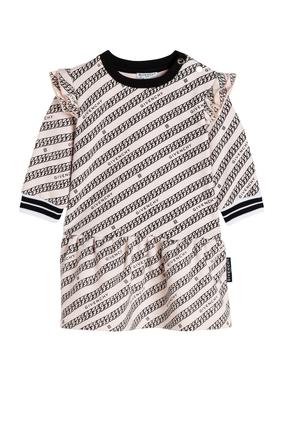 Pattern Print Dress