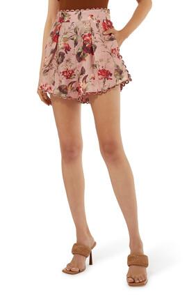 Cassia Scallop Shorts