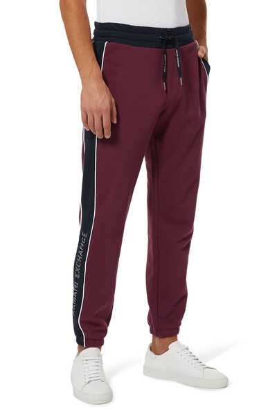 AX Contrast Piping Sweatpants