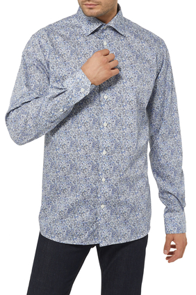 Scandinavian Paisley Print Shirt