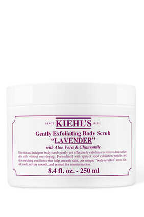 Gently Exfoliating Lavender Body Scrub