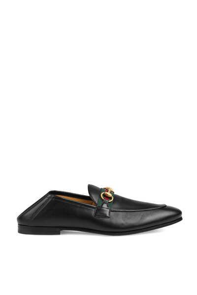 Horsebit Web Loafers