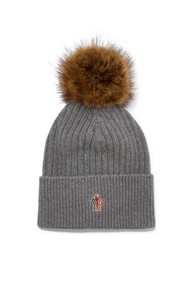 Pom Pom Beanie Hat