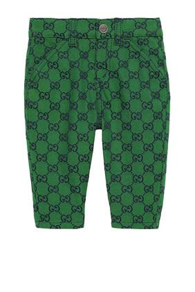 GG Multicolour Canvas Pants