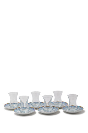 Mirrors Teacups Giftbox, Set of Six
