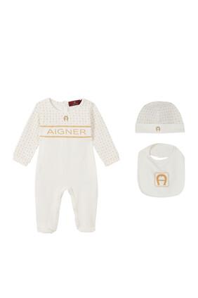 Logo Pima Cotton Jersey Gift Set