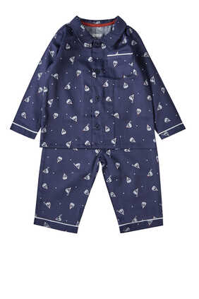 Woven Pajamas, Set of Two