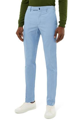 Incotex Stretch Cotton Poplin Slim-fit Pants