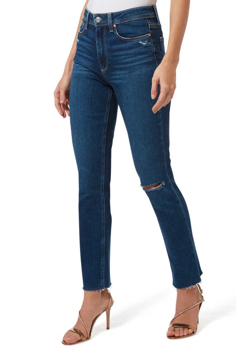 Hoxton Raw Hem Jeans image number 1