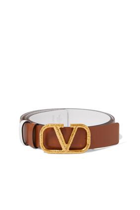 Signature Logo Belt