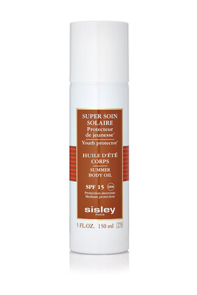 Super Soin Solaire Summer Body Oil SPF15