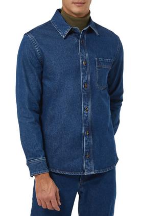 Denim Button Shirt