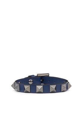 Rock Stud Leather Bracelet