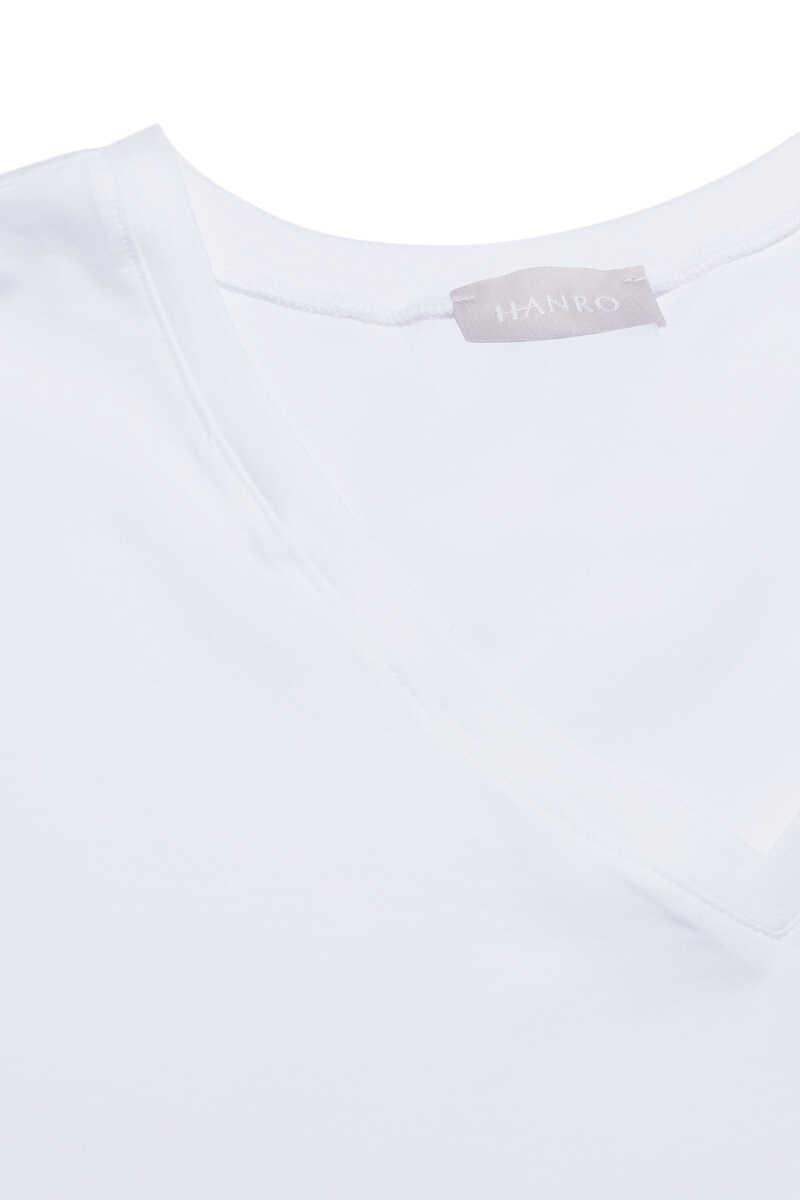Cotton Superior V-Neck Top image number 3