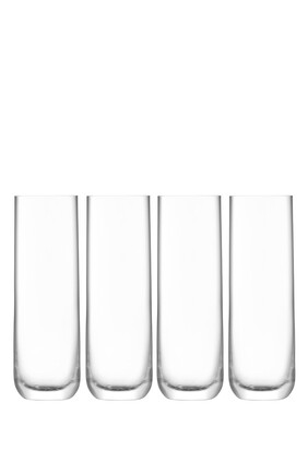 Borough Highball Glass, Set of 4
