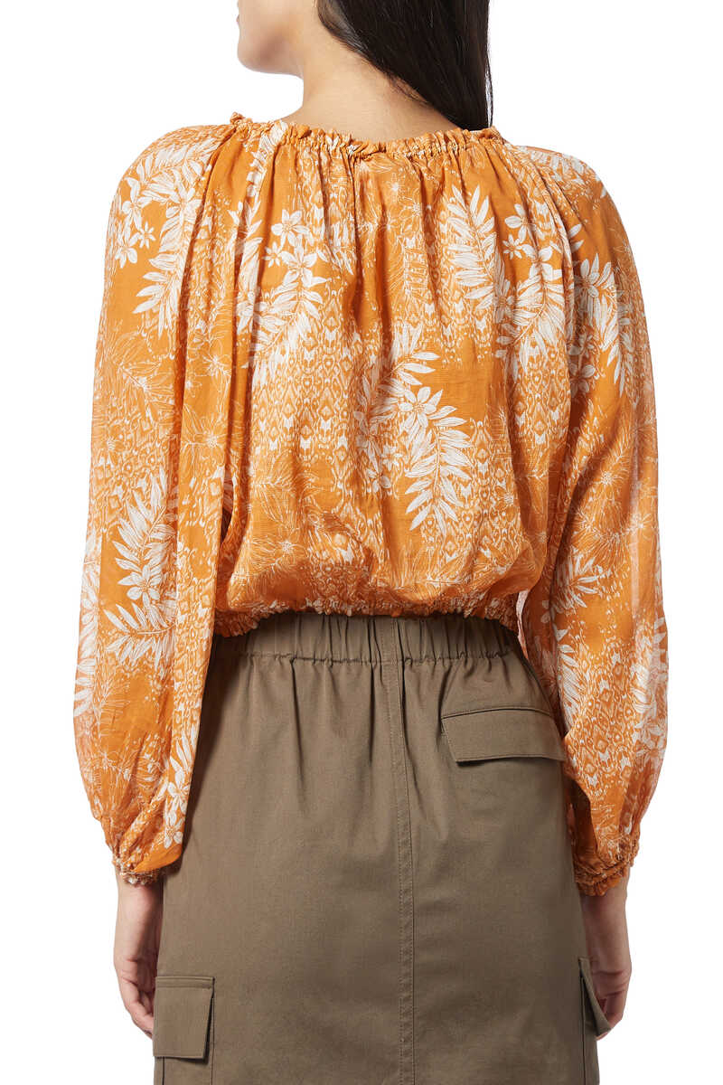 Harmony Floral Print Blouse image number 3