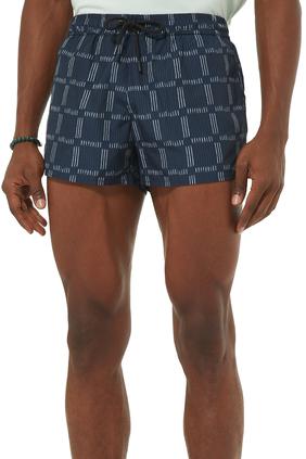 Shadow Checks Shorts