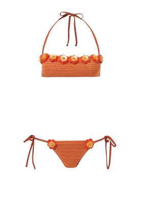 Crochet Two Piece Bikini