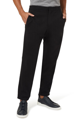 Tapered Cotton Sweatpants