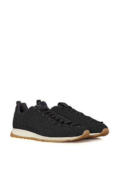 Intrecciato Weave Elasticated Sneakers