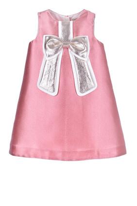 Gilded Bow Dress
