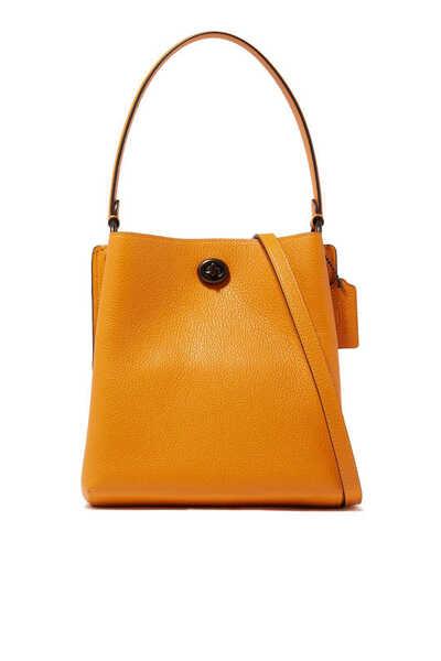 Charlie 21 Leather Bucket Bag