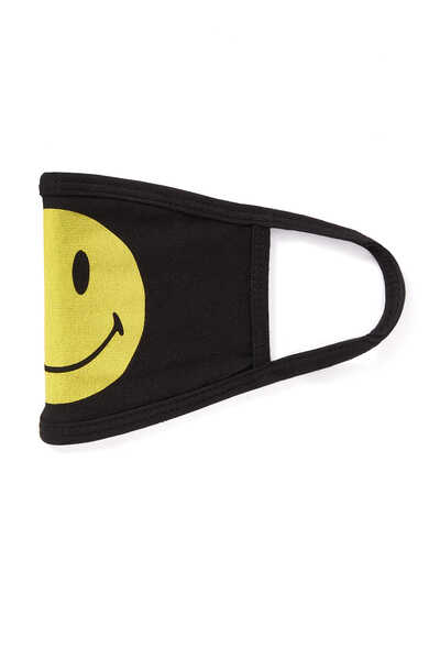 Smiley Logo Face Mask