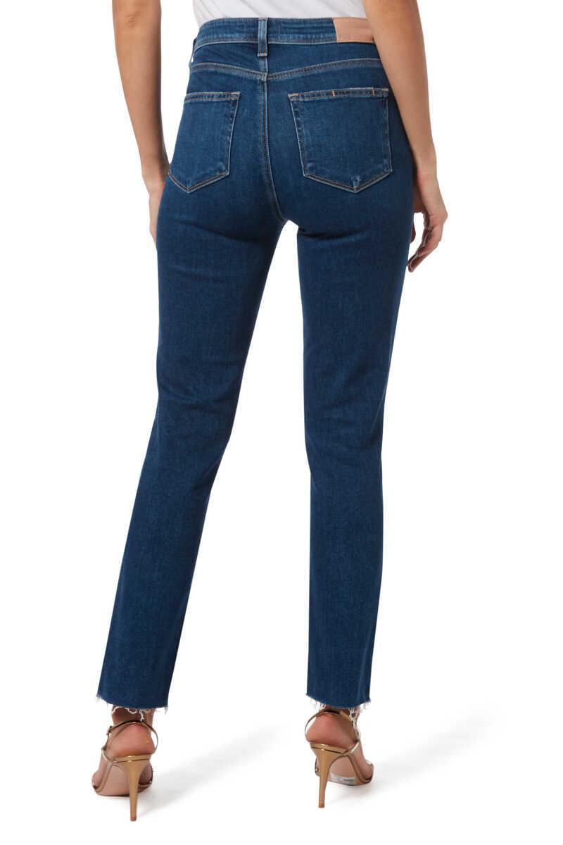 Hoxton Raw Hem Jeans image number 3