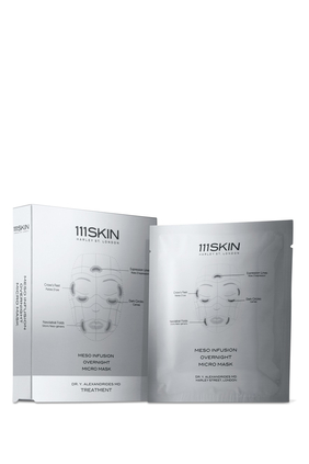 Meso Infusion Overnight Micro Facial Mask, Set of 4