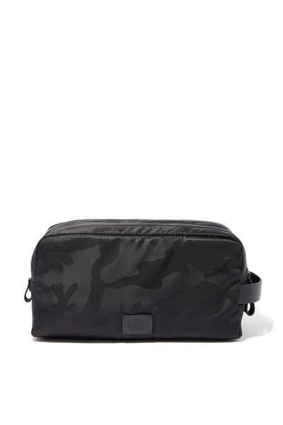 Valentino Garavani Camouflage-Print Wash Bag