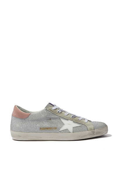 Exclusive All-Over Fine Glitter Superstar Sneakers