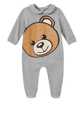 Teddy Bear Print Romper