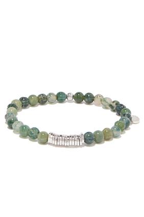 Green Disc Bracelet