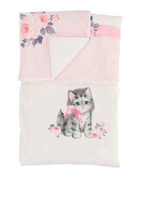 Kitten Cotton Blanket