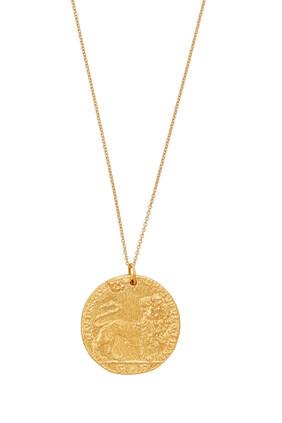 II Leone Medallion Necklace