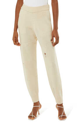 Distressed Jogging Pants