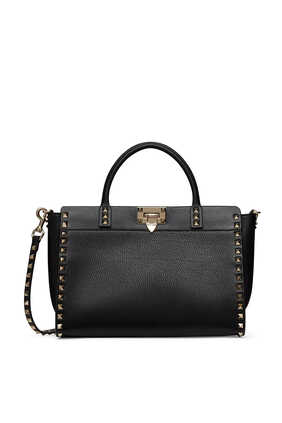 Valentino Garavani Small Rockstud Leather Bag