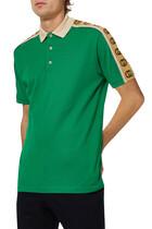Interlocking G Stripe Polo Shirt